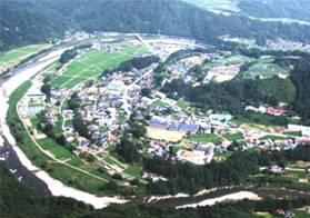 長野県生坂村 生坂中学校